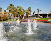Palm Springs Airport Fountain